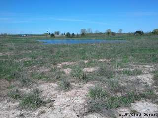 The site of the former Fox Valley Racetrack in Kaukauna, Monday, May 13, 2013. (courtesy of FOX 11).