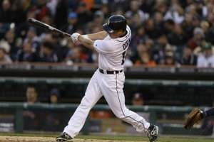 Tigers outfielder Andy Dirks