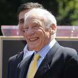 Comedian Mel Brooks smiles during a ceremony where he received a star on the Hollywood Walk of Fame in Los Angeles April 23, 2010. REUTERS/P