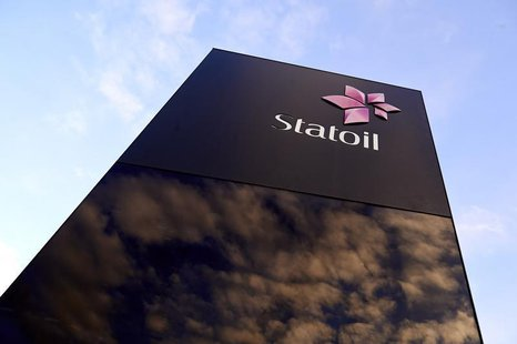 Norwegian energy firm Statoil's logo is pictured at the company's headquarters in Stavanger, Norway, in this picture received January 17, 20