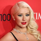 Singer Christina Aguilera arrives for the Time 100 gala celebrating the magazine's naming of the 100 most influential people in the world fo