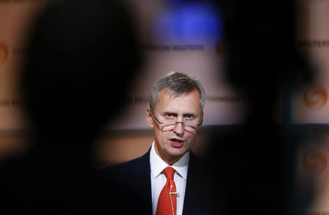 Martin Wheatley speaks at a Thomson Reuters Newsmaker event, in the Canary Wharf business district of east London October 16, 2012. REUTERS/