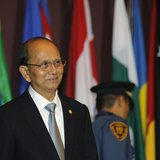 Myanmar's President Thein Sein attends the opening ceremony of the 69th Commission Session of the Economic and Social Commission for Asia an