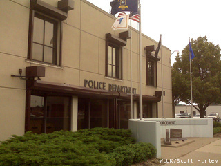 The front of the Green Bay Police Department on 307 S. Adams St. (courtesy of FOX 11).