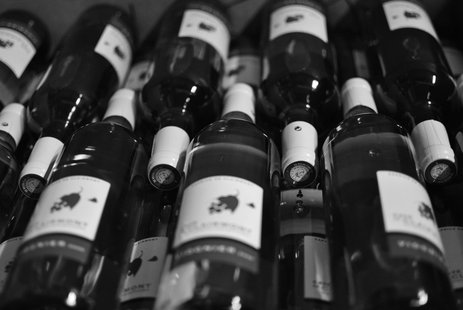Wine bottles (courtesy of Flickr)