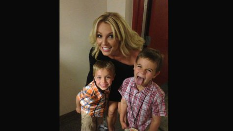 Image courtesy of Image Courtesy Britney Spears via Twitter (via ABC News Radio)