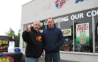 Q106 at Carquest - The Parts Place (5-11-13) 16