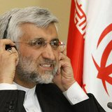 Iran's chief negotiator Saeed Jalili attends a news conference after the talks on Iran's nuclear programme in Almaty April 6, 2013. REUTERS/