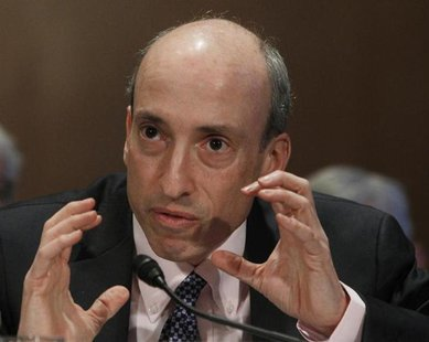 Gary Gensler, Chairman of the Commodity Futures Trading Commission, testifies before the Senate Banking, Housing and Urban Affairs Committee