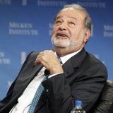 "Carlos Slim, President of the Carlos Slim Foundation and the Telmex Foundation, speaks during ""A Conversation with Larry King and Carlos Sli"