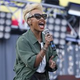 Scottish recording artist Emeli Sande performs at the 2013 Wango Tango concert at the Home Depot Center in Carson, California May 11, 2013.