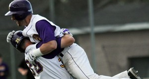 UW Stevens Point Baseball wins another NCAA tourney game.  Photo from UWSP Athletic Dept.