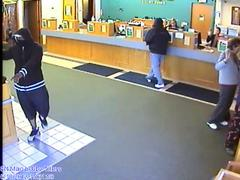 Surveillance video of holdup