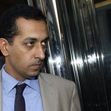 Trainer Mahmood Al Zarooni leaves after a Disciplinary Panel Hearing at the British Horse Racing Authority in London April 25, 2013. REUTERS