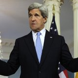 U.S. Secretary of State John Kerry talks to the media at the State Department in Washington May 10, 2013. REUTERS/Yuri Gripas