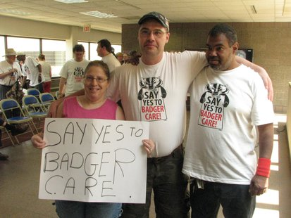 Badgercare expansion supporters