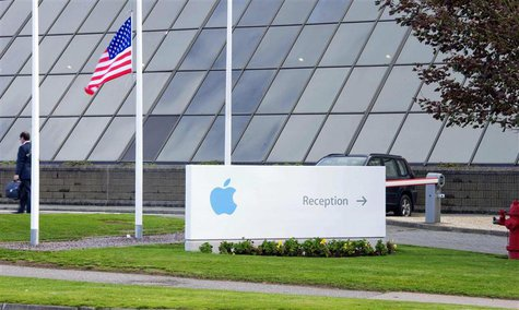 Apple Operations International, a subsidiary of Apple Inc, is seen in Hollyhill, Cork, in the south of Ireland May 21, 2013. REUTERS/Michael