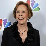 "Actress Carol Burnett arrives for the taping of ""Betty White's 90th Birthday: A Tribute to America's Golden Girl"" in Los Angeles January 8,"