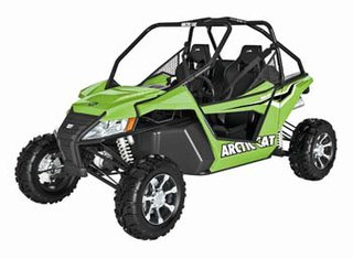 Arctic Cat side by side (not actual vehicle involved in accident)