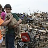 Survivors of Moore, Oklahoma tornado
