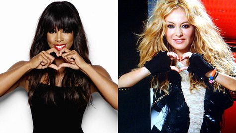 Image courtesy of Facebook.com/KellyRowland; Facebook.com/PaulinaRubio (via ABC News Radio)