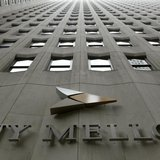 A BNY Mellon sign is seen on their headquarters in New York's financial district, January 19, 2011. REUTERS/Brendan McDermid