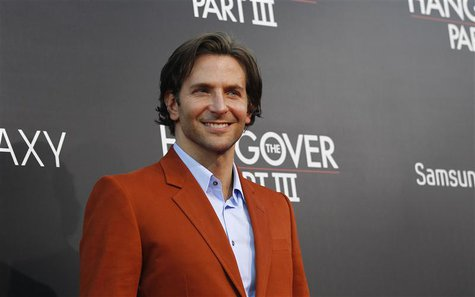 "Cast member Bradley Cooper poses at the premiere of ""The Hangover Part III"" at the Westwood Village theatre in Los Angeles, California May 2"