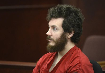 Accused Aurora theater shooting suspect James Holmes listens at his arraignment in Centennial, Colorado in this March 12, 2013 file photo. R