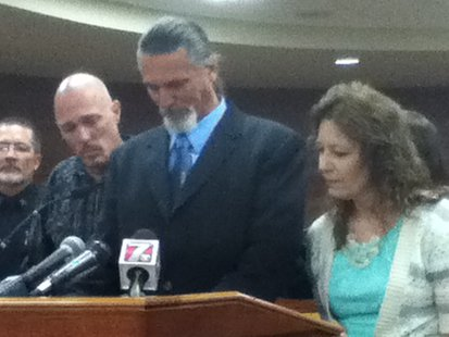 Family of victim Dale Meister