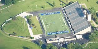 Memorial Stadium Aerial Photo
