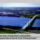 Proposed St. Croix River Bridge Design (Photo Courtesy of MN DOT)