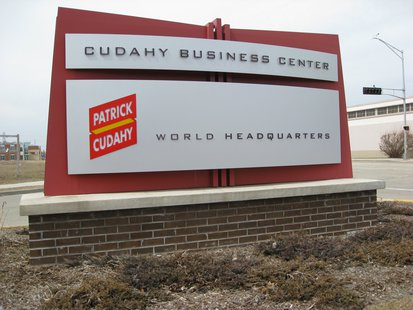 Patrick Cudahy HQ Sign (courtesy of Flickr)