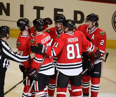 The Chicago Blackhawks have moved on to the next round of the NHL Playoffs.