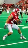 Former USD Wide Receiver Will Powell. Photo Courtesy of University of South Dakota.