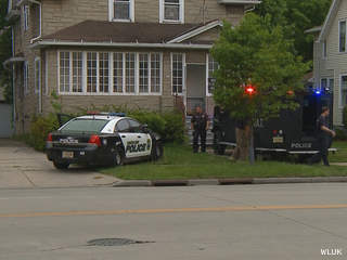 Green Bay police respond to an incident on the 700 block of Mather St., May 30, 2013. (courtesy of FOX 11).