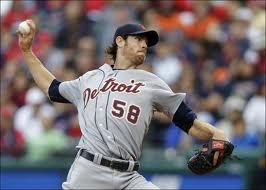 Detroit Tigers starter Doug Fister