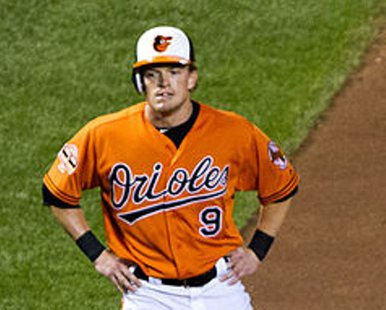 Baltimore Orioles OF Nate McLouth of Whitehall, MI