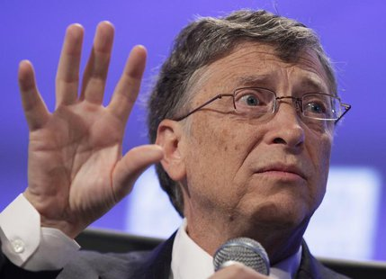Bill Gates speaks during Peterson Institute 2013 Fiscal Summit on Facing the Future in Washington, May 7, 2013. REUTERS/Yuri Gripas