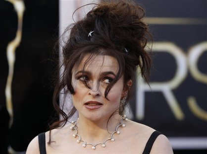 Actress Helena Bonham Carter arrives at the 85th Academy Awards in Hollywood, California February 24, 2013. REUTERS/Lucas Jackson