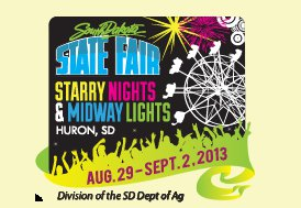 Tickets to the 2013 South Dakota State Fair Grandstand Line-Up will go on sale to the public on Monday, June 24 at 9 a.m. CST.  (sdstatefair.com)