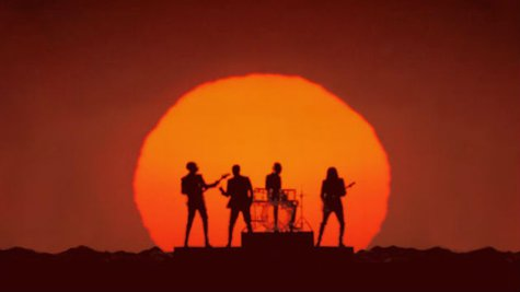 Image courtesy of Facebook.com/DaftPunk (via ABC News Radio)