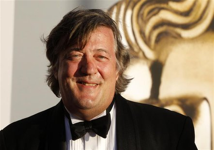 British actor Stephen Fry arrives at the BAFTA Brits to Watch event in Los Angeles, California July 9, 2011. REUTERS/Fred Prouser
