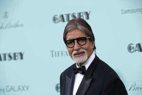Actor Amitabh Bachchan attends the 'The Great Gatsby' world premiere at Avery Fisher Hall at Lincoln Center for the Performing Arts in New Y