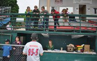 Mike Mathers 1st pitch at the Woodchucks game 6/6/13 3