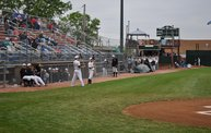 Mike Mathers 1st pitch at the Woodchucks game 6/6/13 2