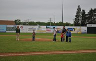 Mike Mathers 1st pitch at the Woodchucks game 6/6/13 1