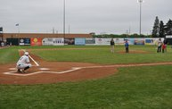 Mike Mathers 1st pitch at the Woodchucks game 6/6/13 8