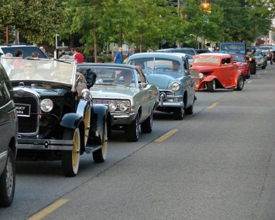 The Remember When Car Show & Cruise returns to Holland (photo courtesy Vintage Car Club of Holland)
