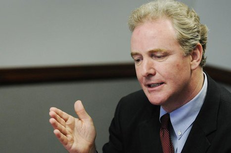 U.S. Representative Chris Van Hollen (D-MD), ranking Democrat on the House Budget Committee, takes questions during the Reuters Washington S