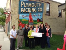 Plymouth Chamber of Commerce accept state tourism grant